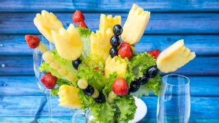 Come realizzare un originale bouquet di frutta