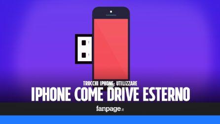 Con questo trucco puoi trasformare iPhone in una chiavetta wieless o un hard disk