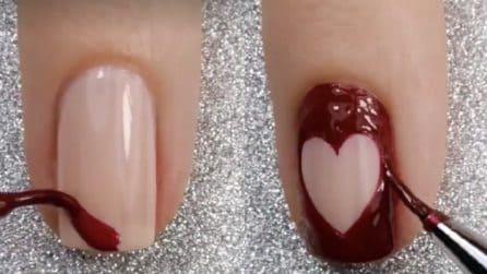 Unghie in perfetto stile San Valentino: ecco come realizzarle