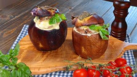Melanzana ripiena: la ricetta semplice e gustosa