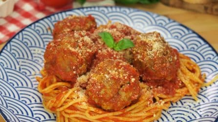 Spaghetti with meatballs: a tasty combination that everyone will love!