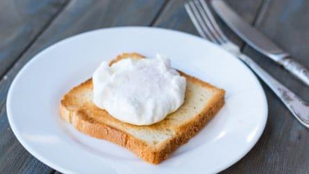 Uovo in camicia: il trucchetto per cucinarlo