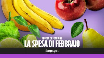 La frutta di stagione: cosa comprare a febbraio