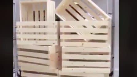 Ha tante cassette in legno da buttare: il modo in cui le ricicla in casa è fantastico