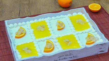 Dolce all'arancia: con le fette biscottate nessuno l'aveva mai provato!