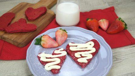 Pancakes red velvet: l'idea perfetta per San Valentino!