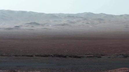 Sembra un luogo della Terra disabitato e invece sono immagini di un altro pianeta