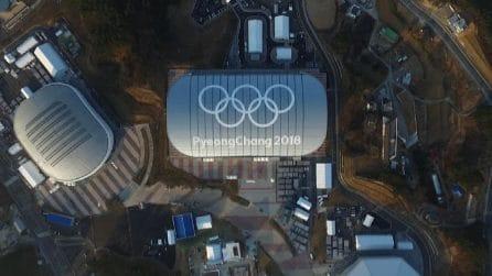 Gli impianti dei Giochi dall'alto a pochi giorni dalle Olimpiadi