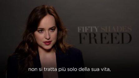 """50 sfumature di rosso, Dakota Johnson: """"Ammiro Anastasia, è una donna agguerrita"""""""