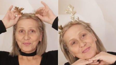 """""""L'età è solo un numero"""": sua madre non si sente bella, lei la trucca e la rende meravigliosa"""