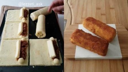 Rotoli di patate ripieni e fritti: una ricetta da leccarsi i baffi