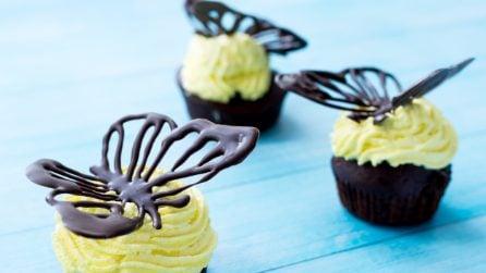Come fare una farfalla 3d con il cioccolato