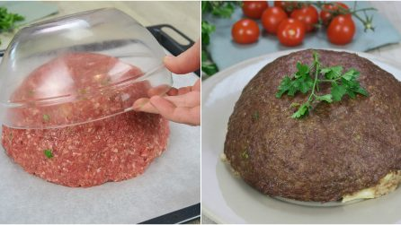 Zuccotto di carne: l'idea gustosa che non avete mai visto prima!