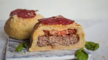 Pizza hamburger