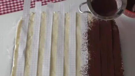 Come preparare un innovativo tiramisù bicolore