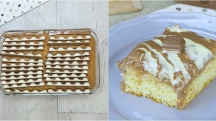 Milk cake: she makes a hole with a toothpick, the reason why is brilliant! INGREDIENTS