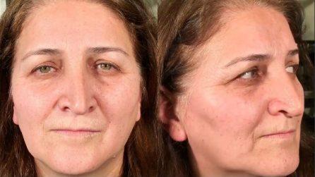 Prima e dopo il make up: la trasformazione è pazzesca