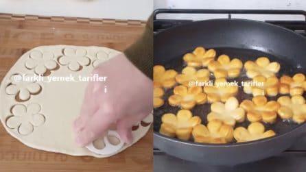 Fiorellini dolci al latte: ecco la ricetta per prepararli