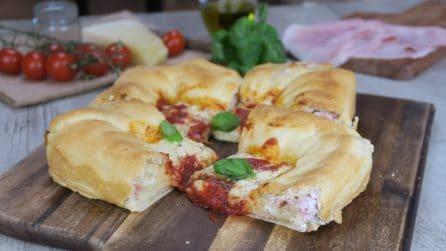 Pizza con cornicione ripieno di ricotta: come per rendere la pizza ancora più gustosa!