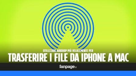 Con questo trucco Mac, potrai condividere i file tra iPhone e Mac più velocemente