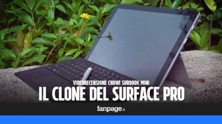 Recensione Surbook Mini: caratteristiche tecniche e prezzo in Italia del clone del Surface Pro