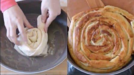 Girella rustica e ripiena: il piatto ideale per una cena veloce