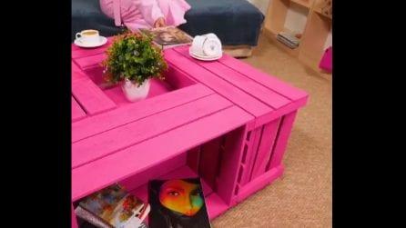 Un tavolino da soggiorno molto originale: ecco come realizzarlo