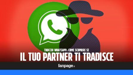 Trucchi WhastApp: scoprire se il tuo partner ti tradisce