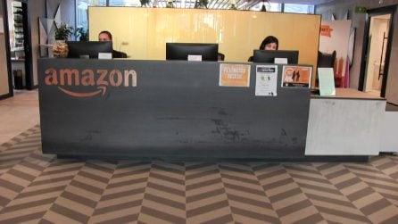 Flessibilità e design, dentro la nuova sede di Amazon a Milano