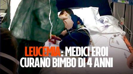 Medici eroi curano la leucemia in un bimbo di 4 anni. In Italia sperimentata la terapia genica