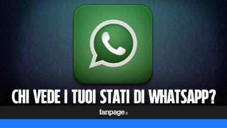 Chi può vedere i tuoi stati su WhatsApp