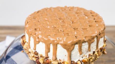 Chocolate waffle sponge cake