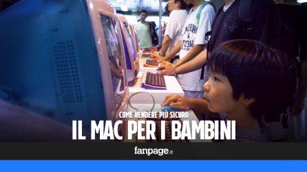 Con questi consigli renderai il Mac più sicuro per i bambini