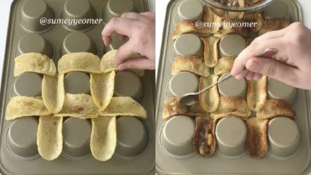 Barchette di mele e cannella: un dessert goloso che piacerà a tutti