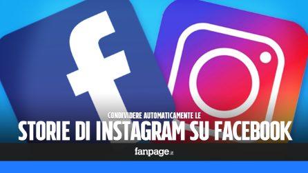 Come condividere automaticamente le storie di Instagram anche su Facebook