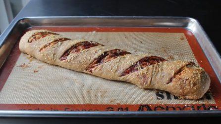 Pane ripieno e squisito: un'idea per una cenetta diversa