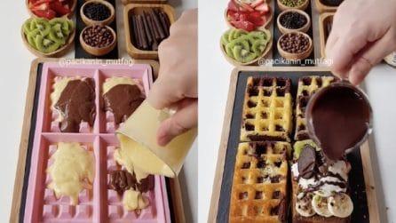 Dessert alla frutta con gelato: ne andranno matti tutti