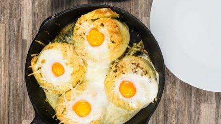 Crêpes salate all'uovo: la ricetta super gustosa!