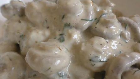 Funghi cremosi in padella: ecco come prepararli