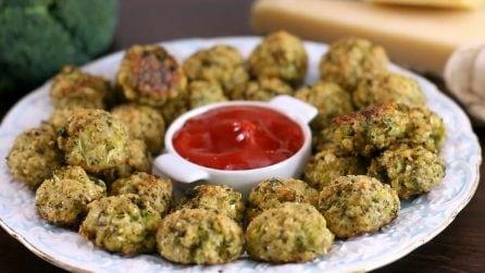 Polpette di broccoli e formaggio: il secondo piatto che piacerà a tutti