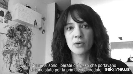 Asia Argento: #WeToogether, 8 marzo sciopero globale delle donne