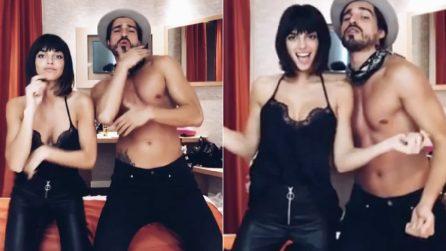Sexy ballo in camera da letto: Nicole Mazzocato e Fabio Colloricchio scatenati su Instagram