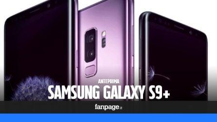 Samsung Galaxy S9 Plus: anteprima, caratteristiche tecniche e prezzo in Italia