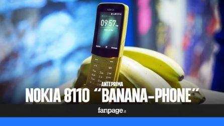 """Nokia 8110, dopo 20 anni il """"banana-phone"""" è tornato"""