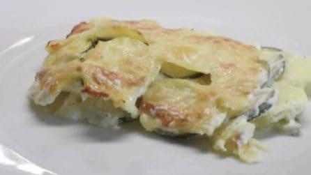 Zucchine gratinate con patate: la ricetta per un contorno perfetto