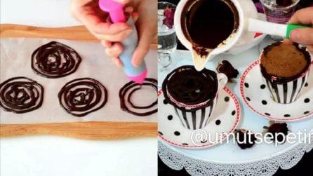 Un modo perfetto e originale per servire la cioccolata calda