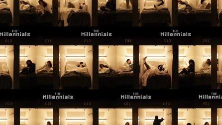Un capsula hotel pensato per i Millennial