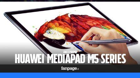 Huawei MediaPad M5: anteprima, caratteristiche tecniche e prezzo in Italia