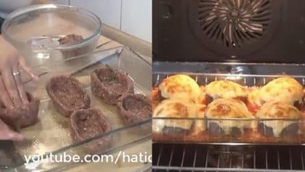 """Prepara delle """"ciotoline"""" di carne e poi le farcisce: un secondo piatto delizioso"""