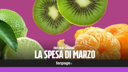 La frutta di stagione: cosa comprare a marzo